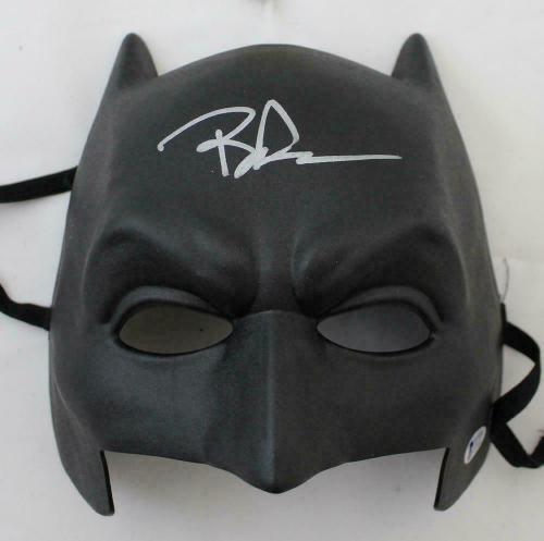 Ben Affleck Autographed/Signed Batman Hard Black Mask BAS 21502