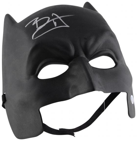 Ben Affleck Batman Autographed Replica Mask - BAS