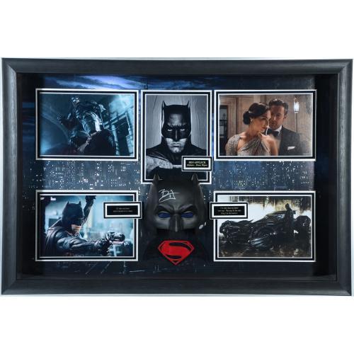 "Ben Affleck Batman Framed Autographed 44"" x 30"" Movie Shadowbox - BAS"
