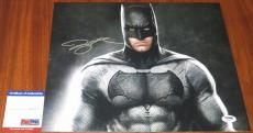 Ben Affleck Signed 11x14 Batman Bruce Wayne Superman PSA/DNA