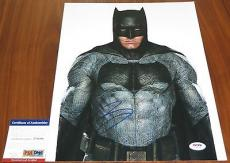Ben Affleck Signed 11x14 Batman v Superman Dawn of Justice PSA/DNA