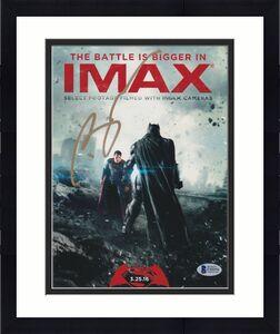 Ben Affleck Signed 8x10 Photo Batman Superman Beckett Bas Autograph Auto Coa C