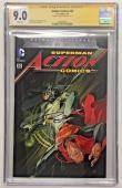 Ben Affleck Signed Action Comics #50 Dc Comic 5/16 Cgc Signature Series 9.0 Auto