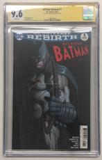 Ben Affleck Signed All Star Batman #1 Dc Comic 10/16 Cgc Signature Series 9.6