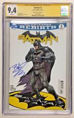 Ben Affleck Signed Batman #1 Dc Comic 11/16 Batman Day Sepcial Ed. Cgc Ss 9.4