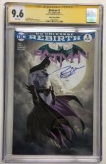 Ben Affleck Signed Batman #1 Dc Comic 8/16 Aspen Comics Ed. Cgc Ss 9.6 Autograph