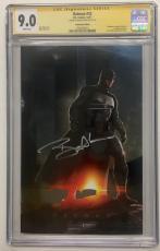 Ben Affleck Signed Batman #32 Dc Comic 12/17 Convention Edition Cgc Ss 9.0 B