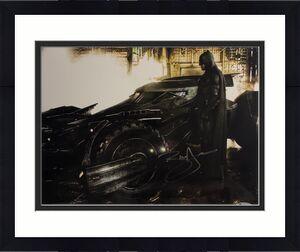 BEN AFFLECK Signed BATMAN in BATMAN V SUPERMAN 11X14 BAS COA BECKETT Autograph A