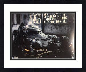 BEN AFFLECK Signed BATMAN in BATMAN V SUPERMAN 8x10 BAS Beckett COA Autograph G