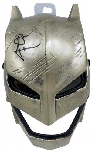 Ben Affleck Signed Batman Justice League Mask Authentic Autograph Proof Beckett