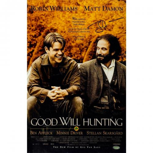 Ben Affleck 'Good Will Hunting' Signed 11x17 Poster (Schwartz Sports Auth)