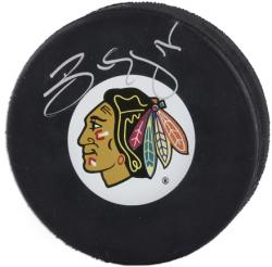 Chicago Blackhawks Ben Eager Autographed Puck