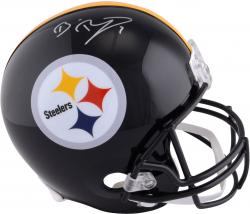 Ben Roethlisberger Pittsburgh Steelers Autographed Riddell Replica Helmet - Mounted Memories