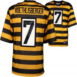 Ben Roethlisberger Pittsburgh Steelers Autographed Nike Alternate Limited Black and Gold Jersey with Steeler Record Inscriptions - Limited Edition #2-49 of 50