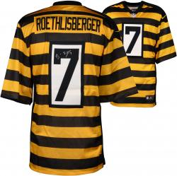 Ben Roethlisberger Pittsburgh Steelers Autographed Throwback Nike Limited Jersey