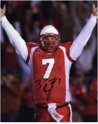 Ben Roethlisberger Miami University RedHawks 8'' x 10'' Arms in Air Autographed Photograph - Mounted Memories