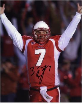 """Ben Roethlisberger Miami University RedHawks 8"""" x 10"""" Arms in Air Autographed Photograph"""
