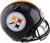 Pittsburgh Steelers Ben Roethlisberger Signed Pro-Line Helmet - Mounted Memories