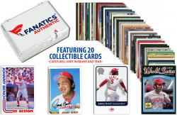 Johnny Bench-Cincinnati Reds- Collectible Lot of 20 MLB Trading Cards - Mounted Memories