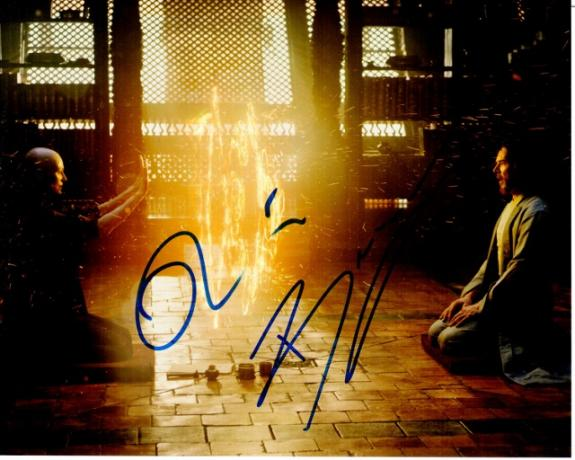 Benedict Cumberbatch and Tilda Swinton Signed - Autographed Doctor Strange 8x10 inch Photo - Guaranteed to pass BAS