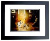 Benedict Cumberbatch and Tilda Swinton Signed - Autographed Doctor Strange 8x10 inch Photo BLACK CUSTOM FRAME - Guaranteed to pass PSA or JSA