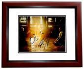 Benedict Cumberbatch and Tilda Swinton Signed - Autographed Doctor Strange 8x10 inch Photo MAHOGANY CUSTOM FRAME - Guaranteed to pass PSA or JSA