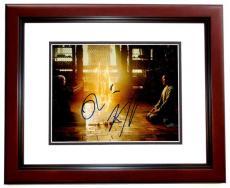 Benedict Cumberbatch and Tilda Swinton Signed - Autographed Doctor Strange 8x10 Photo MAHOGANY CUSTOM FRAME