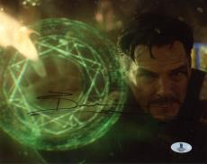 "Benedict Cumberbatch Autographed 8"" x 10"" Doctor Strange Photograph - Beckett COA"