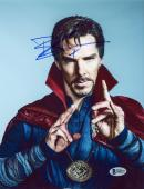 "Benedict Cumberbatch Autographed 8"" x 10"" Dr. Strange Close Up Photograph - Beckett COA"