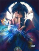 """Benedict Cumberbatch Autographed 8"""" x 10"""" Dr. Strange Hand in Front of Face Photograph - Beckett COA"""