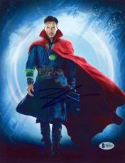 "Benedict Cumberbatch Autographed 8"" x 10"" Dr. Strange Standing Photograph - Beckett COA"