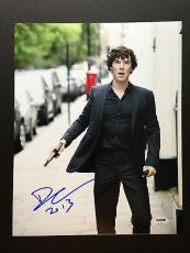 Benedict Cumberbatch Signed 11x14 Photo Autograph Psa Dna Coa Sherlock