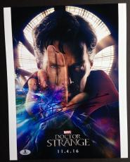 Benedict Cumberbatch Signed 11x14 Photo Beckett Coa Autograph Doctor Strange Bas