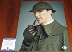 Benedict Cumberbatch Signed 11x14 Sherlock Abominable Bride BAS Beckett