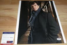 Benedict Cumberbatch Signed 11x14 Sherlock Holmes Hobbit PSA/DNA