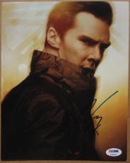 Benedict Cumberbatch signed 8x10 photo PSA/DNA autograph