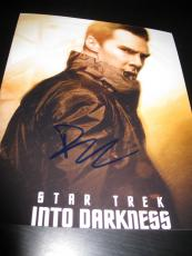 BENEDICT CUMBERBATCH SIGNED AUTOGRAPH 8x10 INTO DARKNESS PROMO IN PERSON COA D