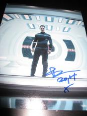BENEDICT CUMBERBATCH SIGNED AUTOGRAPH 8x10 INTO DARKNESS PROMO IN PERSON COA E