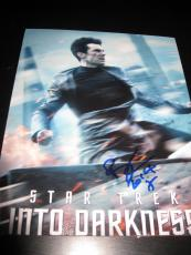 BENEDICT CUMBERBATCH SIGNED AUTOGRAPH 8x10 INTO DARKNESS PROMO IN PERSON COA F