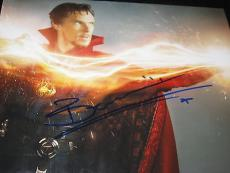 BENEDICT CUMBERBATCH SIGNED AUTOGRAPH 8x10 PHOTO DOCTOR STRANGE MARVEL COA NY D