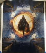 BENEDICT CUMBERBATCH SIGNED AUTOGRAPH DOCTOR STRANGE 16x20 MOVIE POSTER PHOTO B