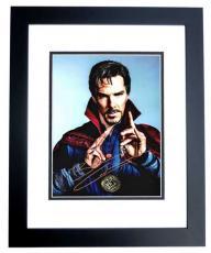Benedict Cumberbatch Signed - Autographed Doctor Strange 11x14 inch Photo - RARE FULL Signature - BLACK CUSTOM FRAME - Guaranteed to pass PSA or JSA