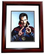 Benedict Cumberbatch Signed - Autographed Doctor Strange 11x14 inch Photo - RARE FULL Signature - MAHOGANY CUSTOM FRAME - Guaranteed to pass PSA or JSA