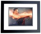 Benedict Cumberbatch Signed - Autographed Doctor Strange - Dr. Stephen Strange 8x10 inch Photo BLACK CUSTOM FRAME - Guaranteed to pass PSA or JSA