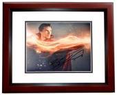 Benedict Cumberbatch Signed - Autographed Doctor Strange - Dr. Stephen Strange 8x10 inch Photo MAHOGANY CUSTOM FRAME - Guaranteed to pass PSA or JSA