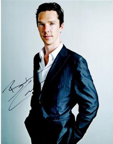 Benedict Cumberbatch Signed - Autographed Sherlock - Doctor Strange Actor 11x14 inch Photo - Guaranteed to pass BAS - RARE FULL Signature