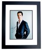 Benedict Cumberbatch Signed - Autographed Sherlock - Doctor Strange Actor 11x14 inch Photo - RARE FULL Signature - BLACK CUSTOM FRAME - Guaranteed to pass PSA or JSA