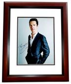 Benedict Cumberbatch Signed - Autographed Sherlock - Doctor Strange Actor 11x14 inch Photo - RARE FULL Signature - MAHOGANY CUSTOM FRAME - Guaranteed to pass PSA or JSA
