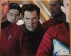 Benedict Cumberbatch Star Trek signed 8x10 photo PSA/DNA autograph