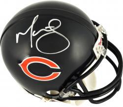 Martellus Bennett Chicago Bears Autographed Riddell Mini Helmet